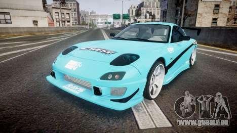 Mazda RX-7 C-West pour GTA 4