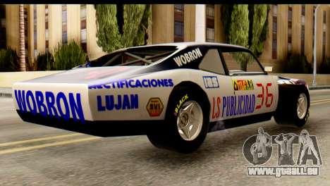 Chevrolet Series 2 Turismo Carretera Mouras pour GTA San Andreas laissé vue