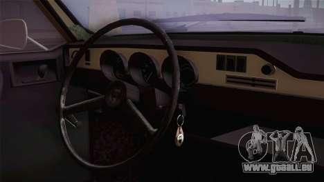 Dacia 1300 Biharia pour GTA San Andreas vue de droite