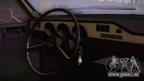 Dacia 1300 Biharia für GTA San Andreas rechten Ansicht