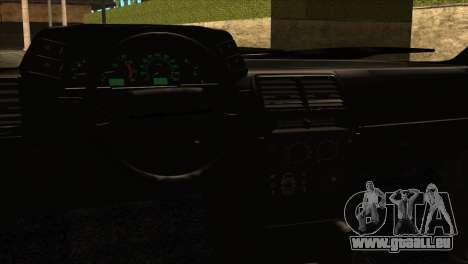 ВАЗ 2112 Heureux Baisse des Amis pour GTA San Andreas vue arrière