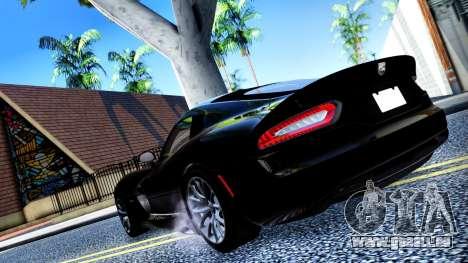 ENB Chaux HD pour PC moyen pour GTA San Andreas sixième écran