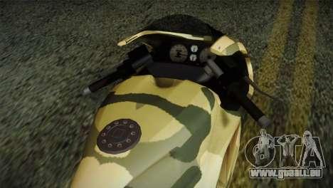GTA 5 Bati Green für GTA San Andreas rechten Ansicht