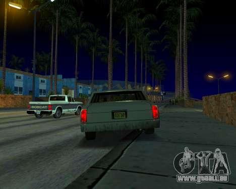 ENB v3.0.0 pour les faibles PC pour GTA San Andreas cinquième écran