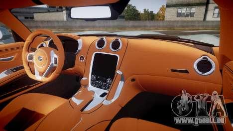 Dodge Viper SRT 2013 rims3 pour GTA 4 Vue arrière
