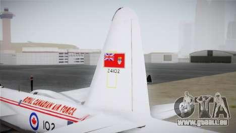P2V-7 Lockheed Neptune JMSDF pour GTA San Andreas sur la vue arrière gauche