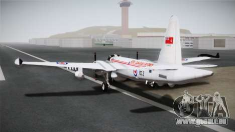 P2V-7 Lockheed Neptune JMSDF pour GTA San Andreas laissé vue