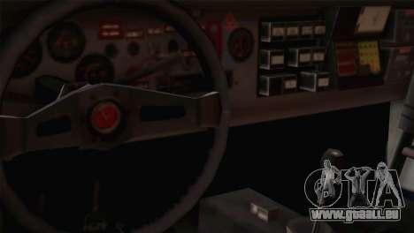 Fiat Abarth Sport Edition für GTA San Andreas Rückansicht
