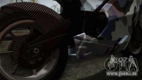 GTA 5 Bati Blue pour GTA San Andreas vue arrière