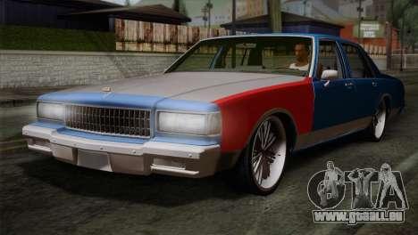 Chevy Caprice Hustler & Flow pour GTA San Andreas