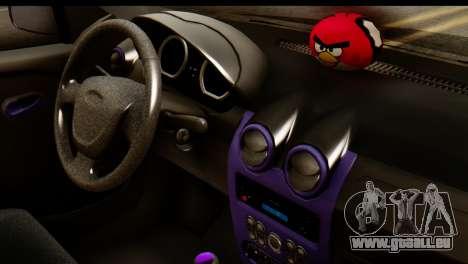 Dacia Logan für GTA San Andreas Rückansicht