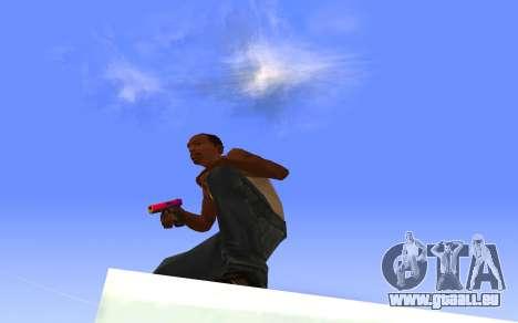 Glock-18 Farbverlauf CS:GO für GTA San Andreas dritten Screenshot