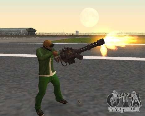 De beaux clichés à partir d'armes pour GTA San Andreas septième écran
