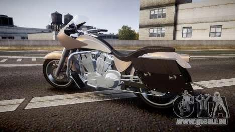 GTA V Western Motorcycle Company Bagger für GTA 4 linke Ansicht
