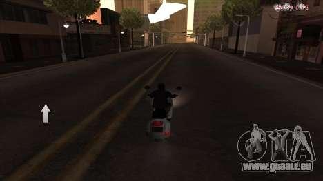 Navigateur GPS avec la voix de la russie pour GTA San Andreas