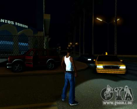 ENB v3.0.1 pour GTA San Andreas quatrième écran