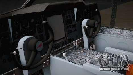 P2V-7 Lockheed Neptune JMSDF pour GTA San Andreas vue arrière