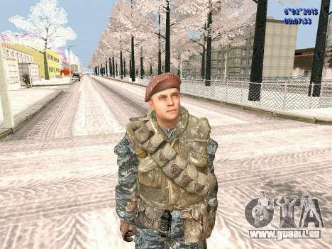 Die besonderen Kräfte der UdSSR CoD Black Ops für GTA San Andreas