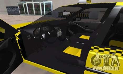 Peugeot 405 Roa Taxi pour GTA San Andreas vue de côté