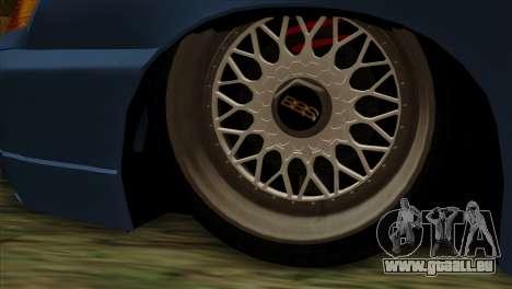 ВАЗ 2112 Heureux Baisse des Amis pour GTA San Andreas sur la vue arrière gauche
