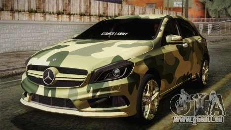 Mercedes-Benz A45 AMG Camo Edition für GTA San Andreas