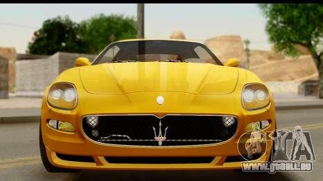Maserati Gransport 2006 für GTA San Andreas Seitenansicht