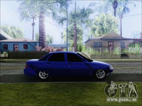 VAZ 2110 БПАN de Kemerovo pour GTA San Andreas laissé vue