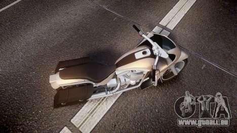 GTA V Western Motorcycle Company Bagger pour GTA 4 est un droit