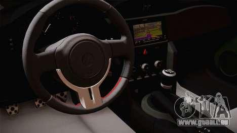Toyota GT86 für GTA San Andreas rechten Ansicht