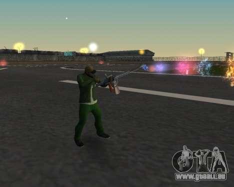 De beaux clichés à partir d'armes pour GTA San Andreas cinquième écran