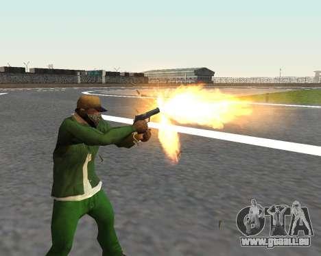 De beaux clichés à partir d'armes pour GTA San Andreas huitième écran