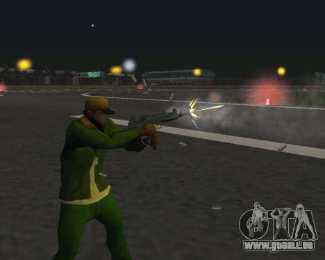 De beaux clichés à partir d'armes pour GTA San Andreas onzième écran