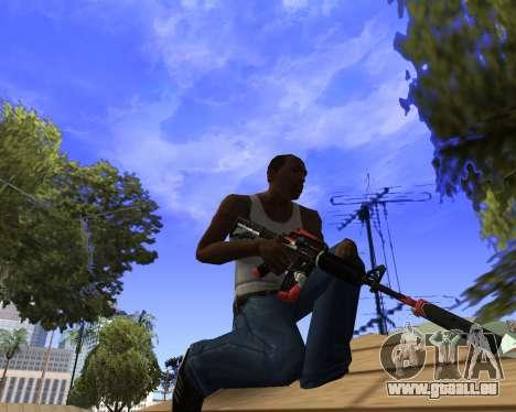 M4A1-S Syrex CS:GO für GTA San Andreas