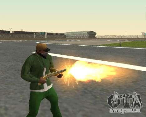 De beaux clichés à partir d'armes pour GTA San Andreas neuvième écran