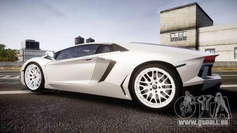 Lamborghini Aventador Hamann Limited 2014 [EPM] pour GTA 4 est une gauche