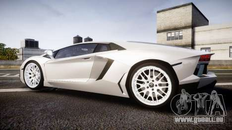 Lamborghini Aventador Hamann Limited 2014 [EPM] für GTA 4 linke Ansicht