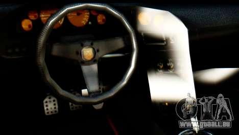 GTA 5 Pegassi Zentorno v2 IVF für GTA San Andreas Rückansicht