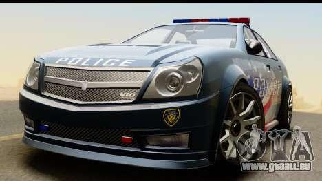 EFLC TBoGT Albany Police Stinger IVF für GTA San Andreas rechten Ansicht