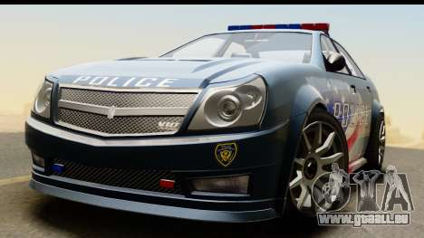 EFLC TBoGT Albany Police Stinger IVF pour GTA San Andreas vue de droite