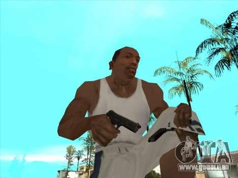 Russe pistolets-mitrailleurs pour GTA San Andreas neuvième écran
