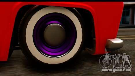 EFLC TLaD Vapid Slamvan SA Mobile pour GTA San Andreas vue arrière
