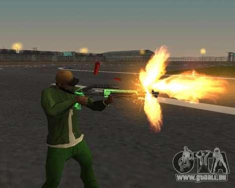 De beaux clichés à partir d'armes pour GTA San Andreas deuxième écran