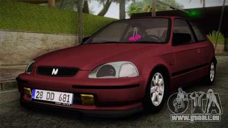 Honda Civic 1.4i S TMC pour GTA San Andreas