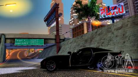ENB Chaux HD pour PC moyen pour GTA San Andreas quatrième écran