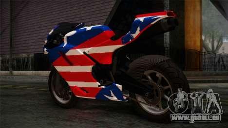 GTA 5 Bati American für GTA San Andreas linke Ansicht