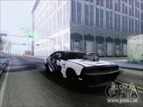 Dodge Challenger SRT8 Hemi Drag Tuning pour GTA San Andreas