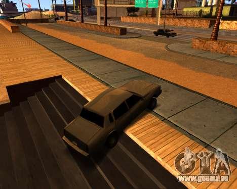 ENB v3.0.0 pour les faibles PC pour GTA San Andreas quatrième écran