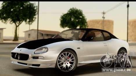 Maserati Gransport 2006 pour GTA San Andreas salon