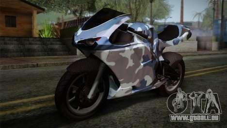 GTA 5 Bati Blue pour GTA San Andreas
