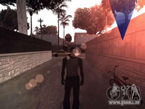 ColorMod by Sorel pour GTA San Andreas deuxième écran